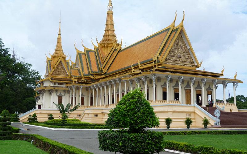 Phnom Penh Temple in Cambodia