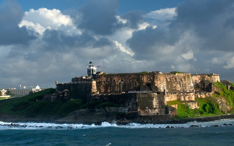 El Morro Fort in San Juan, Puerto Rico