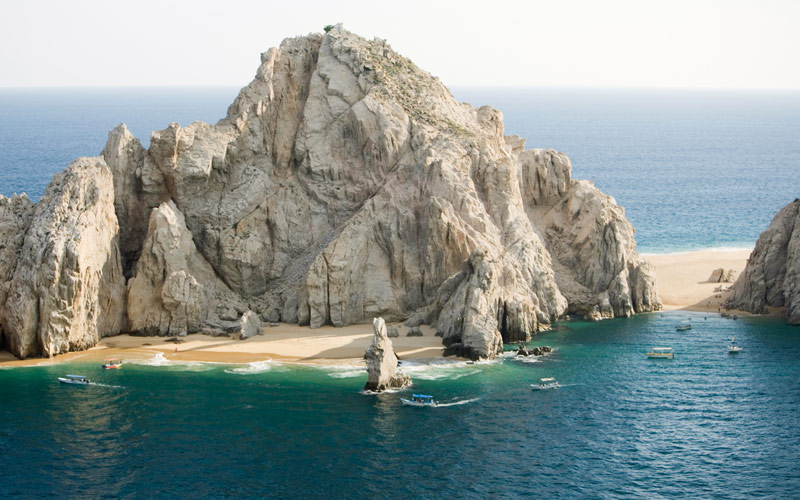 The rocks of Cabo San Lucas