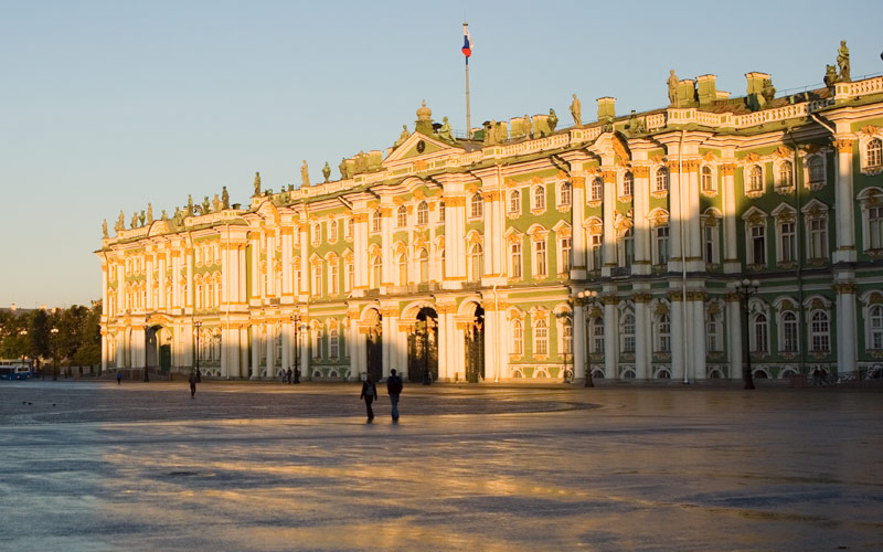 St. Petersburg Palace Square in Russia