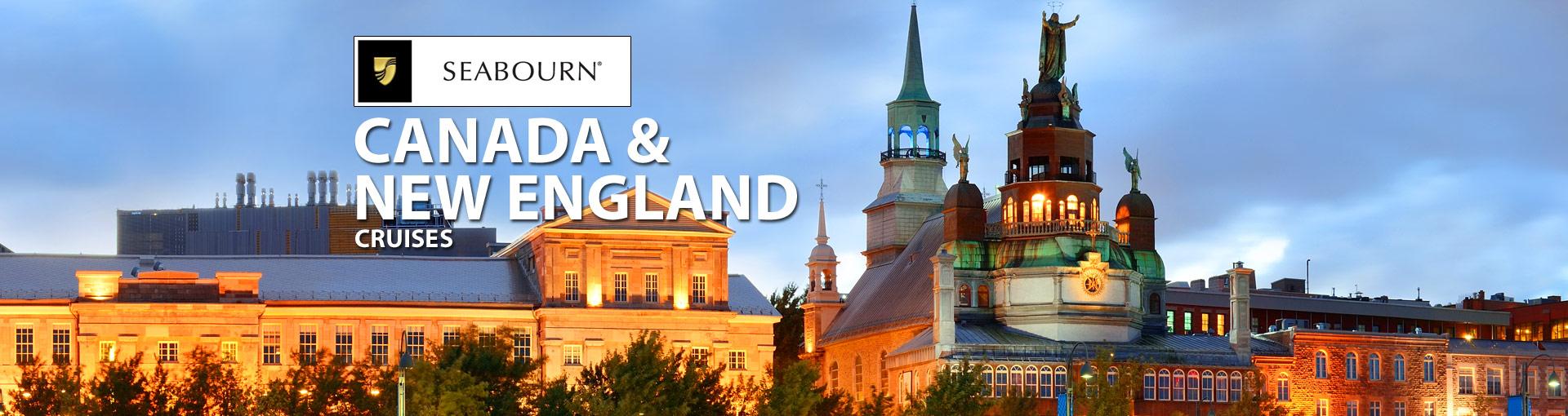 Seabourn Cruise Line Canada / New England Cruises