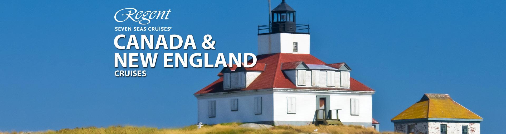 Regent Seven Seas Cruises Canada New England Cru
