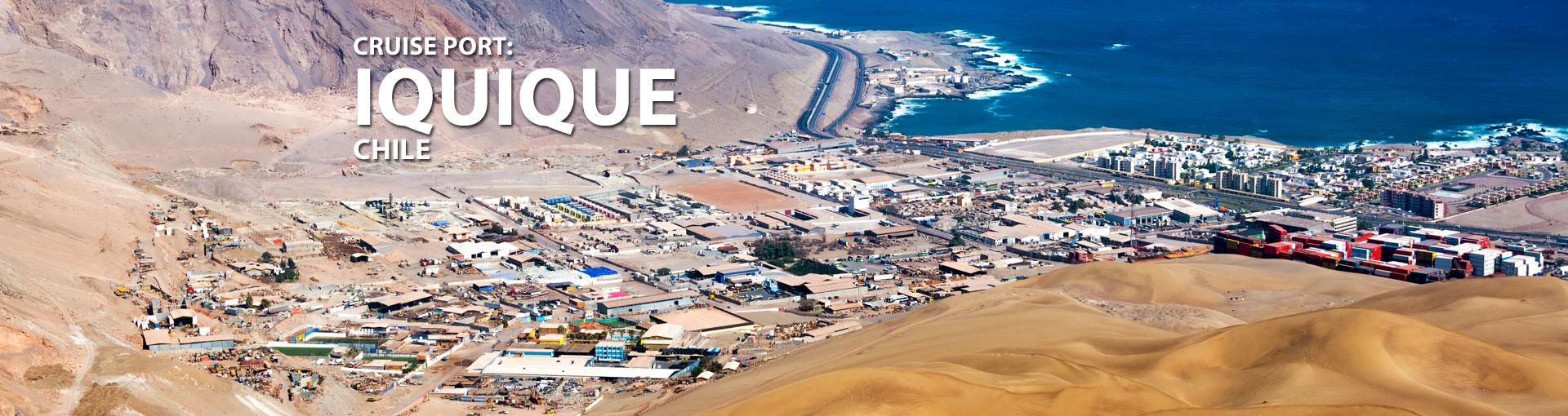 Cruises to Iquique, Chile