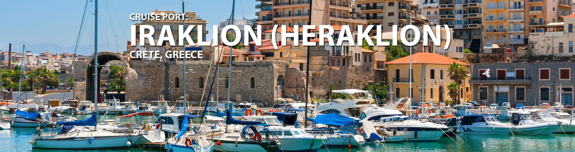 Cruises to Iraklion (Heraklion), Crete, Greece