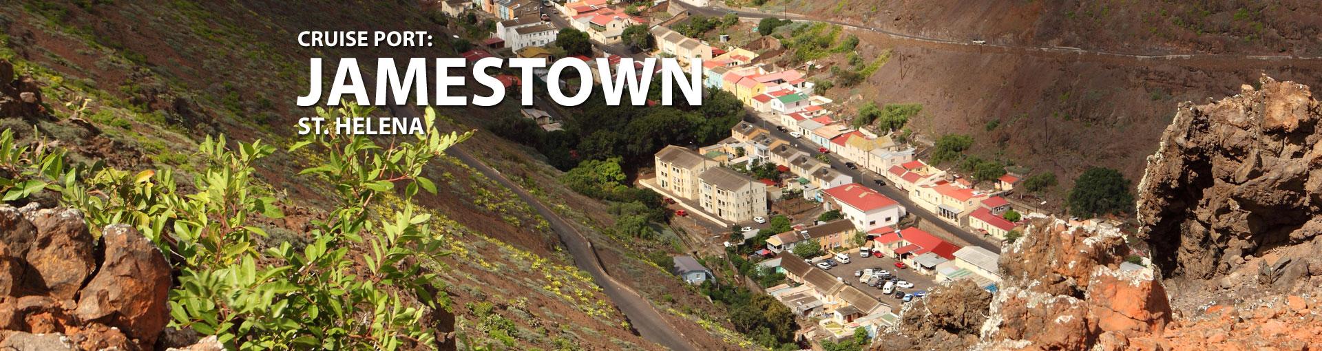 Cruises to Jamestown, St Helena
