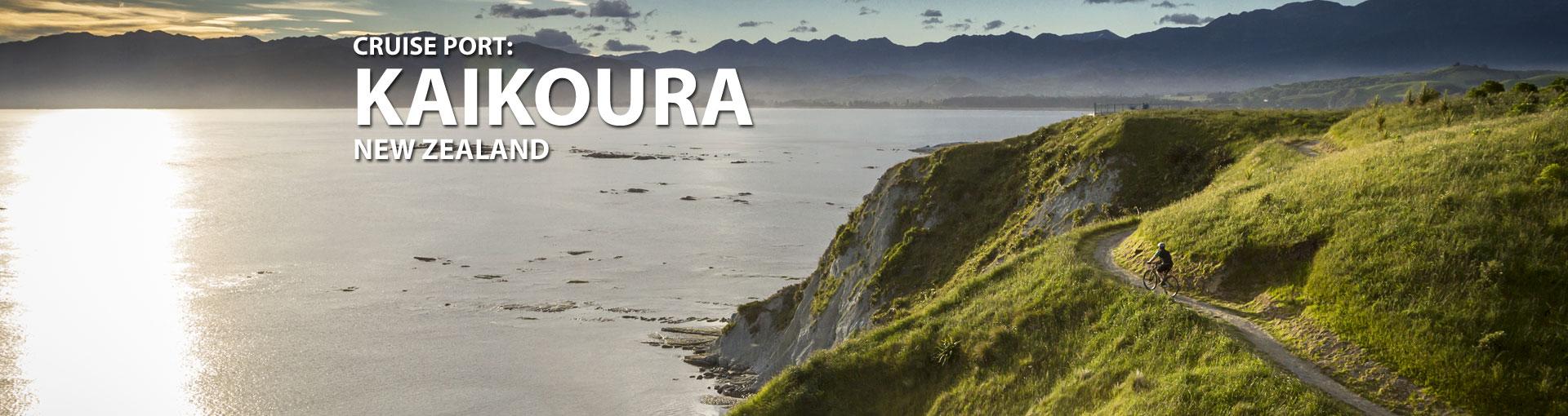 Cruises to Kaikoura, New Zealand