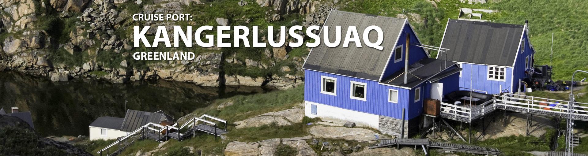 Cruises from Kangerlussuaq, Greenland