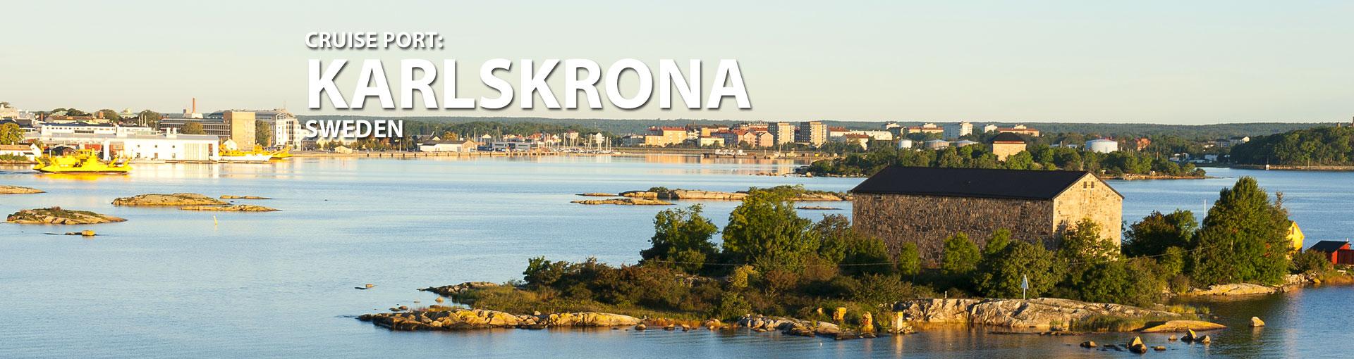 Cruises to Karlskrona, Sweden