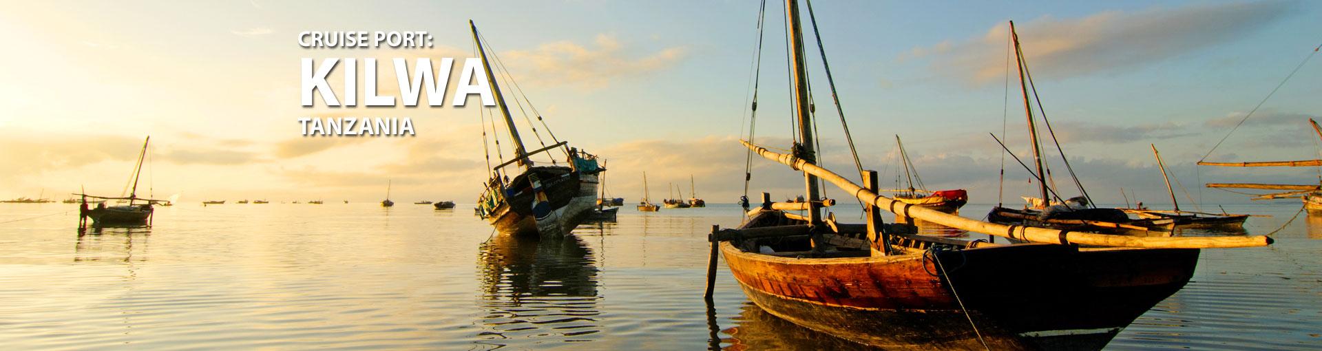 Cruises to Kilwa, Tanzania