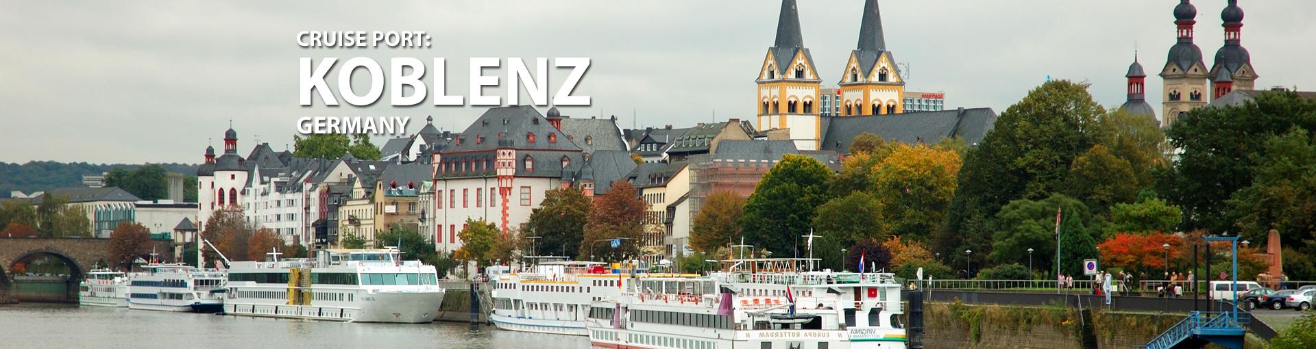 Cruises to Koblenz, Germany