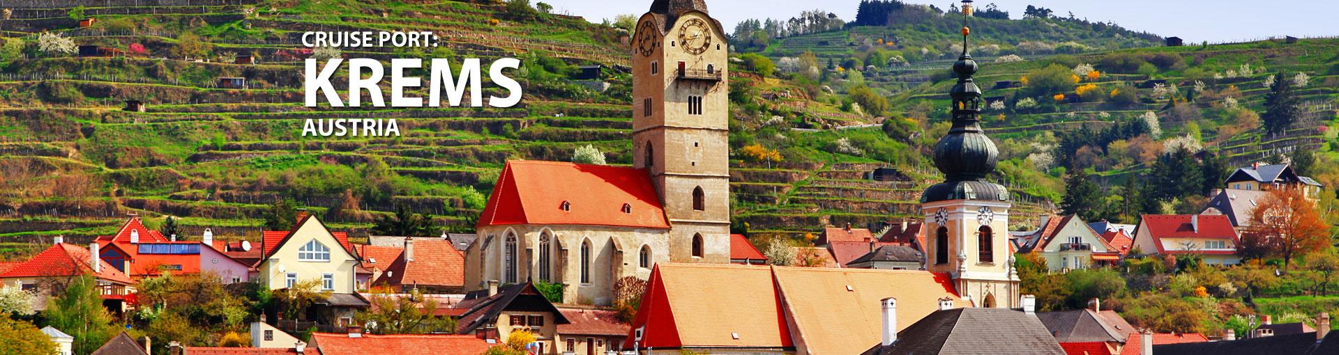 Cruises to Krems, Austria