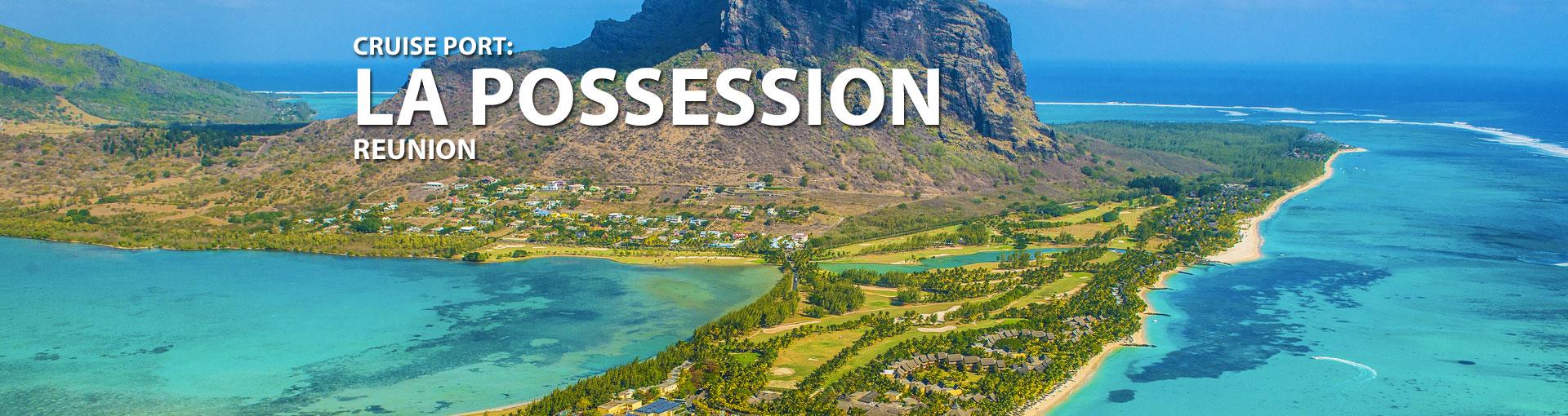 Cruises to La Possession, Reunion