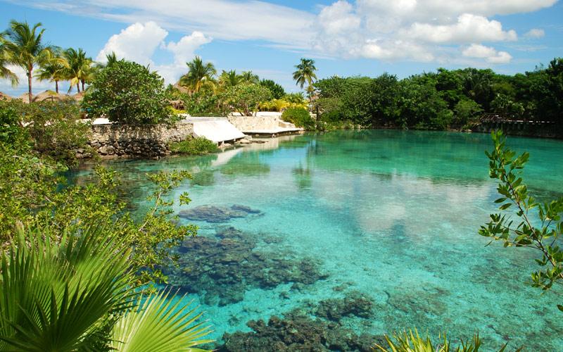 Lagoon Cozumel Mexico