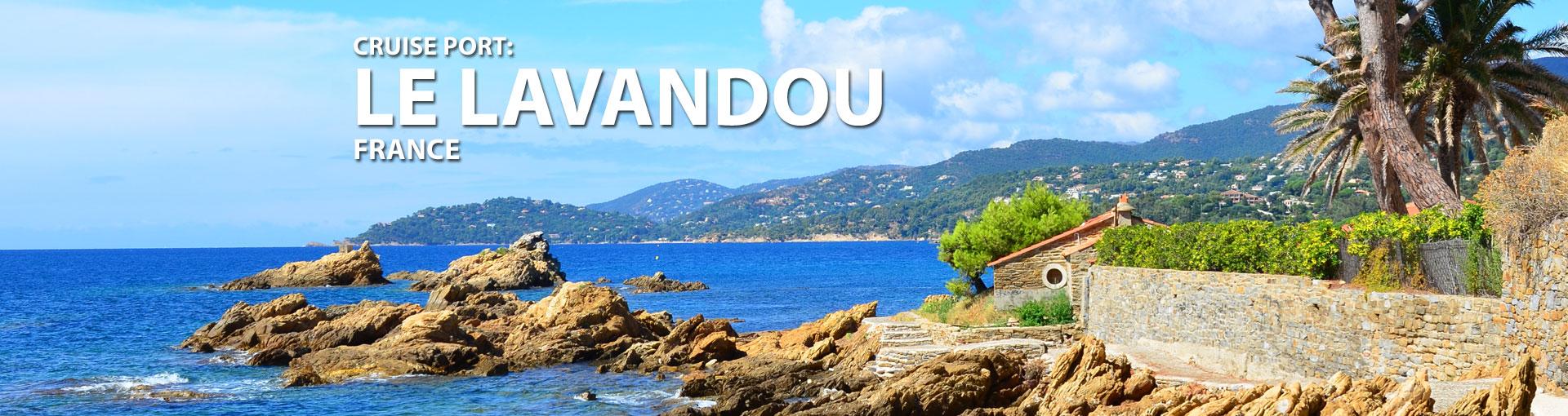Cruises to Le Lavandou, France