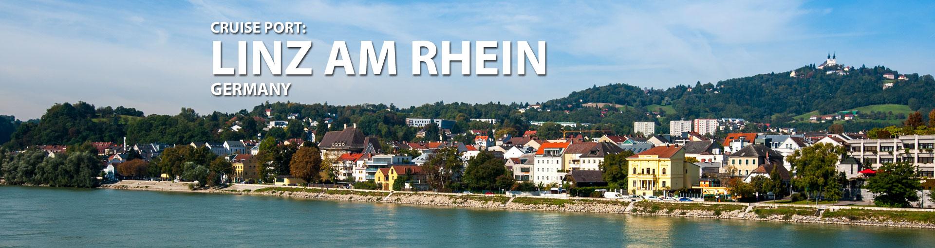 Cruises to Linz Am Rhein, Germany