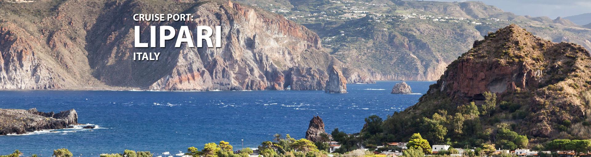 Cruises to Lipari, Italy