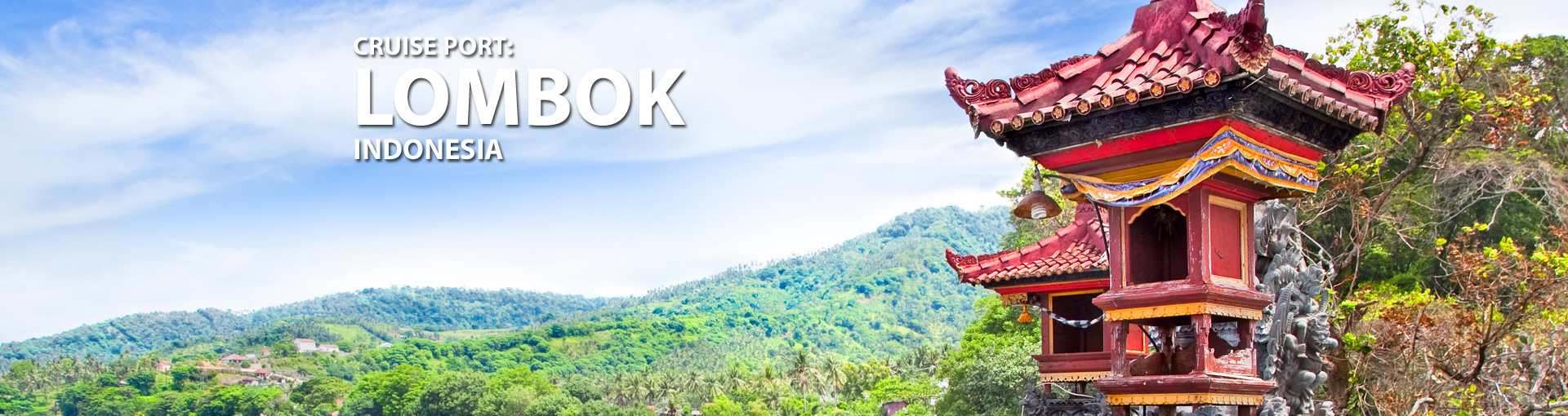 Cruises to Lombok, Indonesia