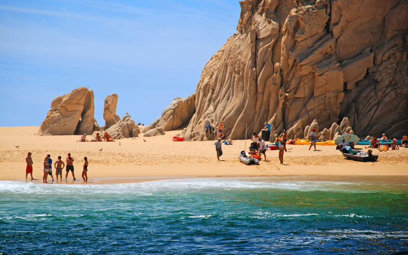 Lovers Beach in Cabo San Lucas Mexico