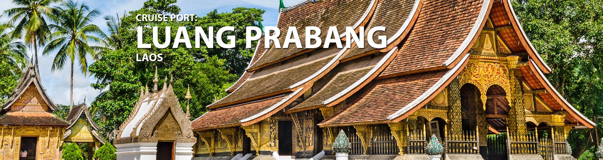 Cruises to Luang Prabang, Laos