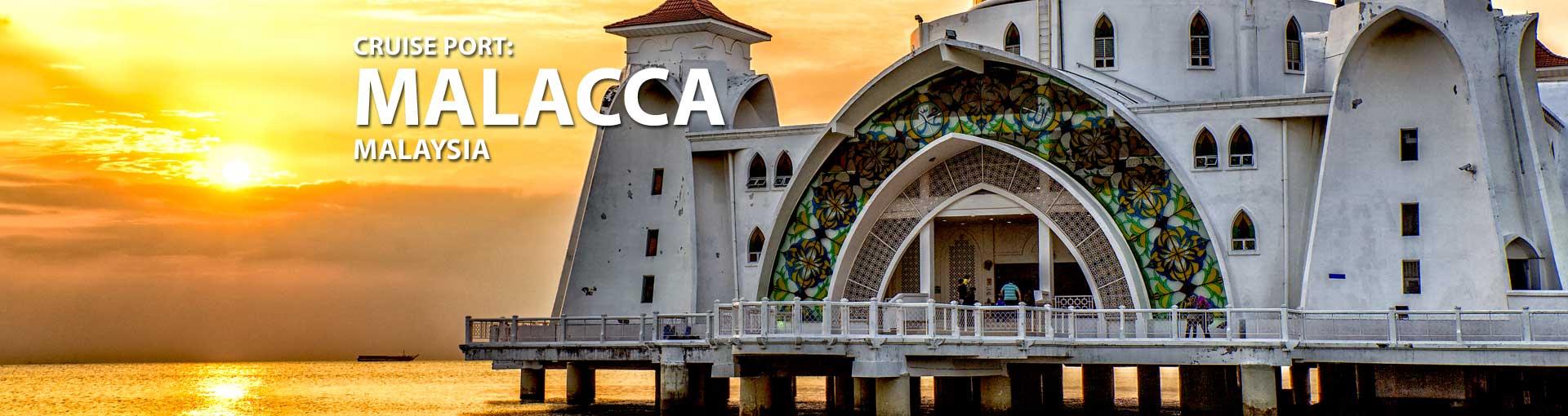 Cruises to Malacca, Malaysia