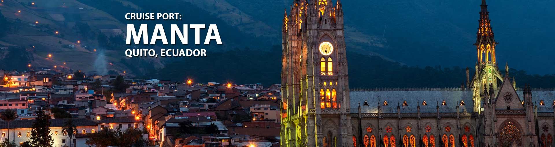 Cruises to Manta, Quito, Ecuador