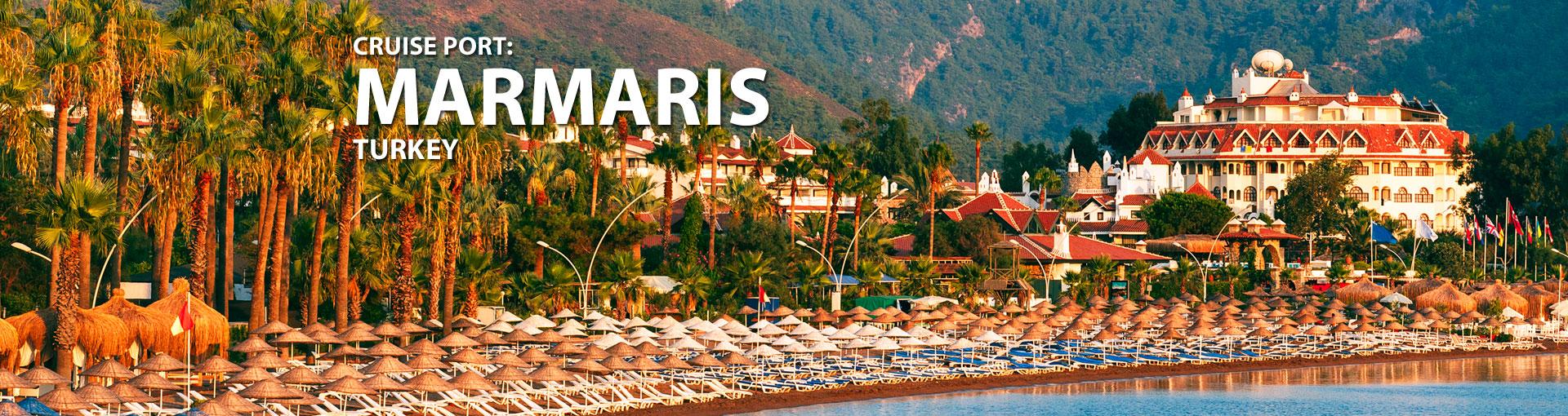 Cruises to Marmaris, Turkey