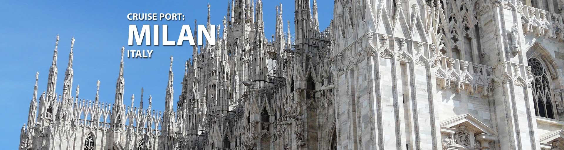 Cruises from Milan, Italy