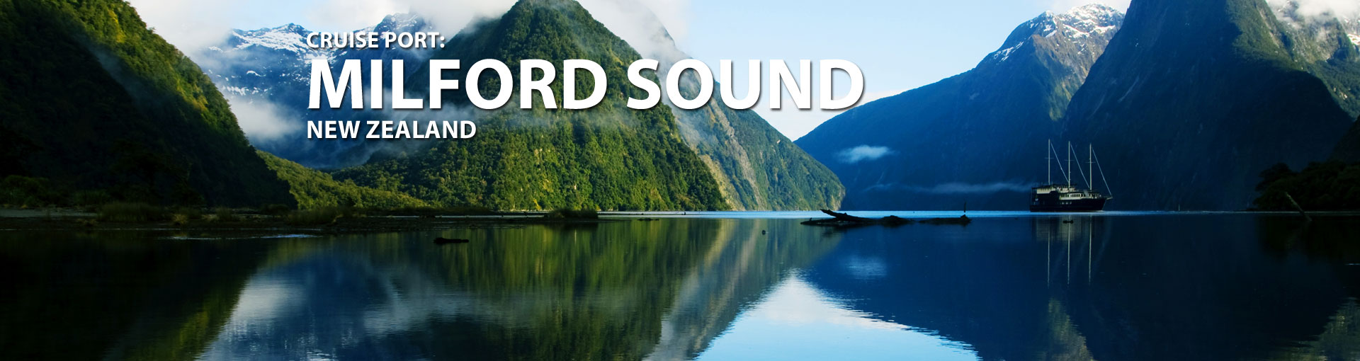 Cruises to Milford Sound, New Zealand