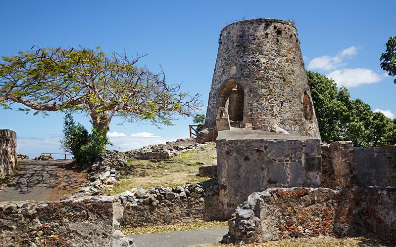Annaberg plantation, St John MSC Cruises Caribbean