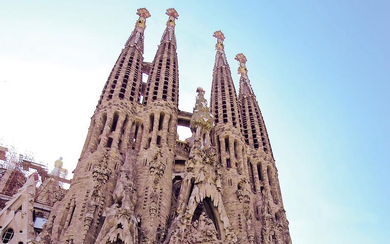 La Sagrada Família Barcelona Spain MSC Cruises