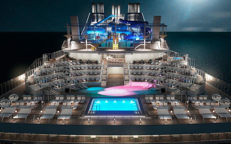 Horizon Pool aboard MSC Bellissima