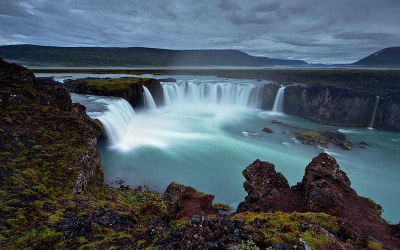 Godafoss the waterfall of Gods Iceland MSC Cruises
