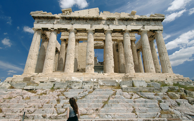 Parthenon in Athens, Greece MSC Cruises Europe