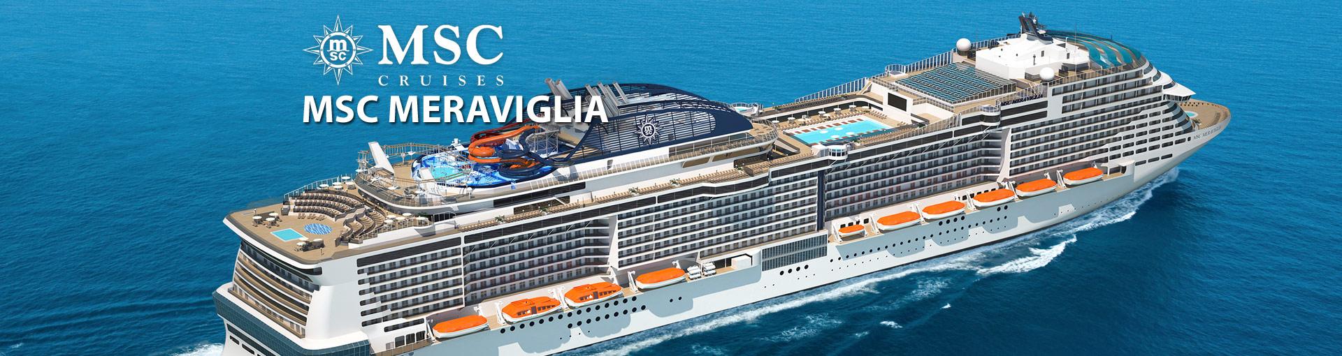 MSC Cruises MSC Meraviglia cruise ship
