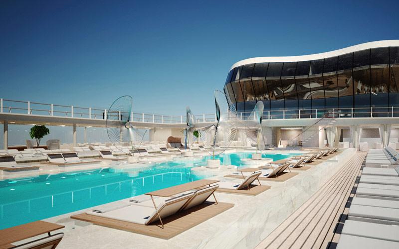 Pool aboard MSC Meraviglia
