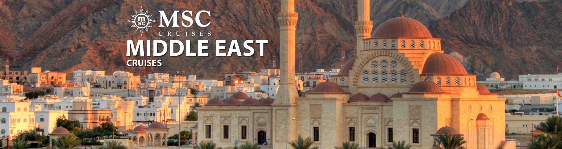 Msc Cruises Asia & Middle East Cruises