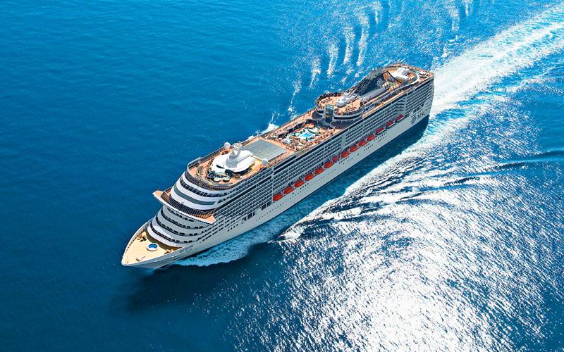Msc Divina Cruise Ship 2018 And 2019 Msc Divina