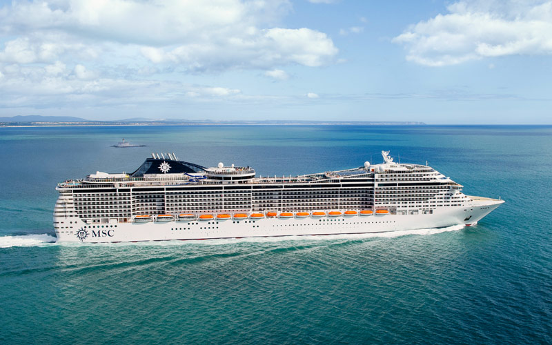 Msc Divina Cruise Ship 2018 And 2019 Msc Divina