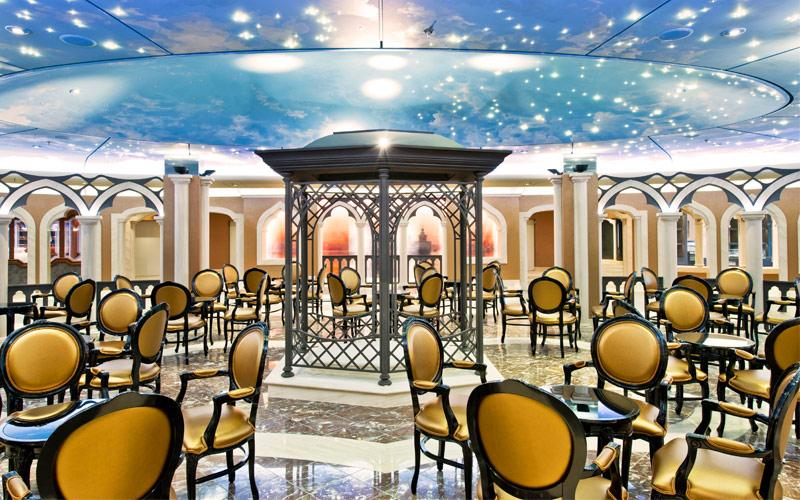 MSC Cruises MSC Divina Italian Piazza