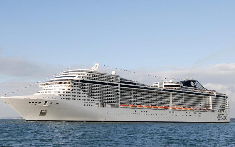 MSC Cruises MSC Fantasia exterior