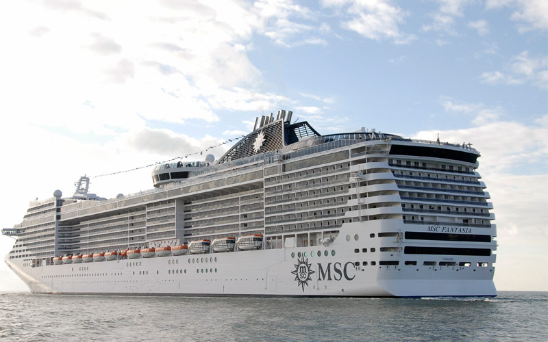 MSC Fantasia Cruise Ship, 2019 and 2020 MSC Fantasia