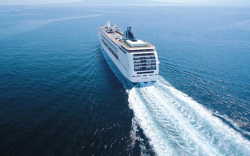 MSC Cruises MSC Lirica exterior
