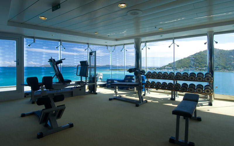 MSC Cruises MSC Lirica Fitness Center