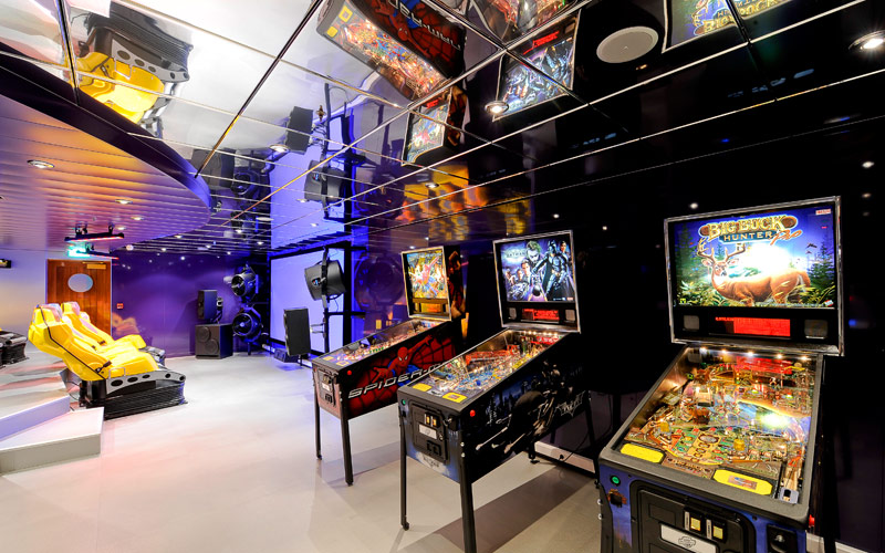 MSC Cruises MSC Magnifica Video Arcade