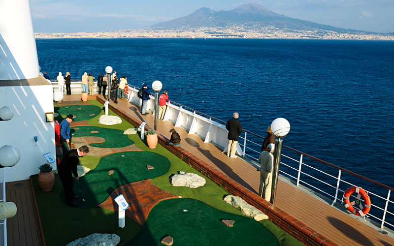 MSC Cruises MSC Musica Mini Golf