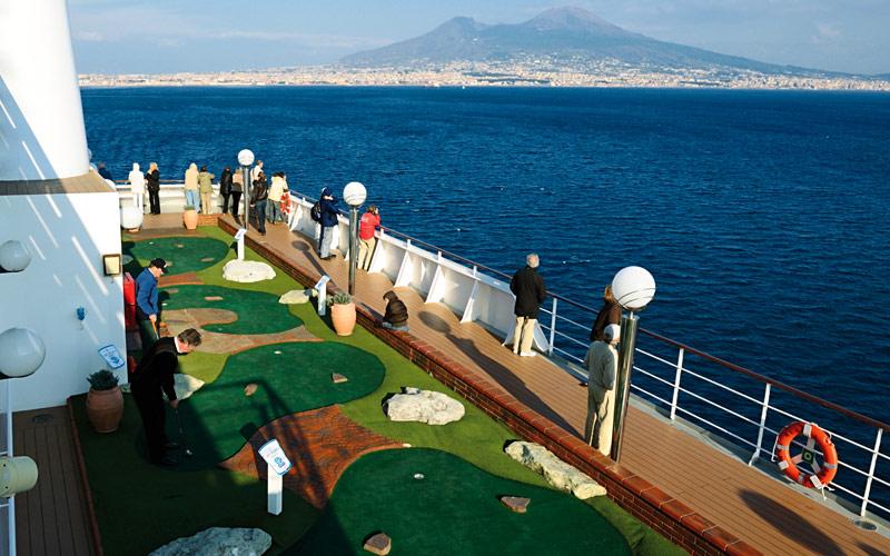 MSC Cruises MSC Musica Mini Golf