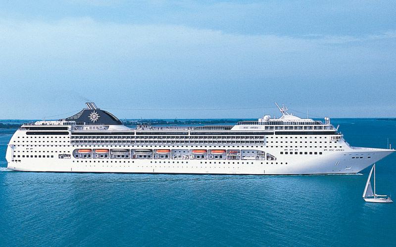 MSC Cruises MSC Opera exterior