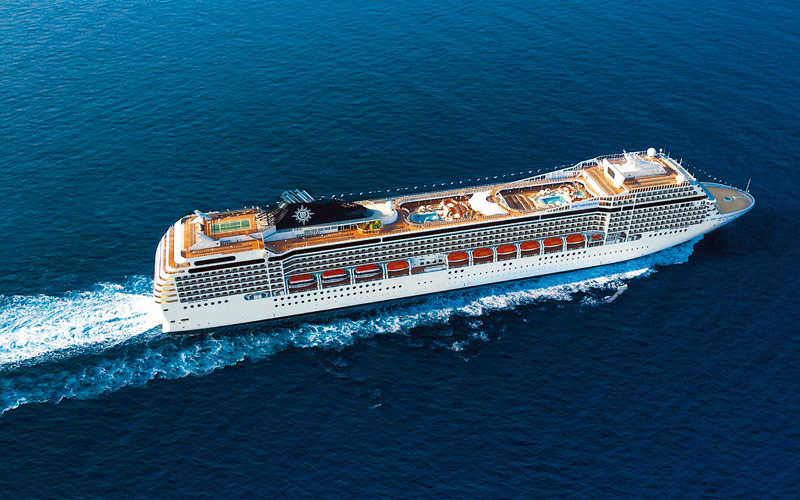 MSC Cruises MSC Orchestra exterior