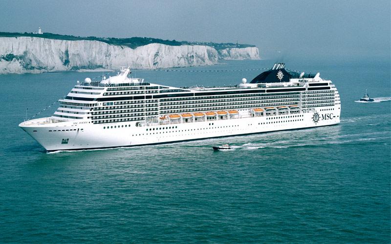 MSC Cruises MSC Poesia exterior