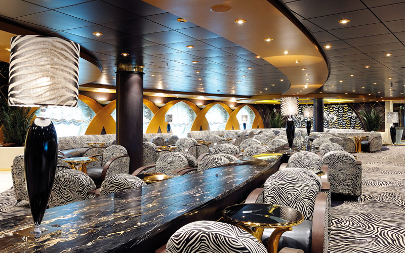 MSC Cruises MSC Poesia zebra bar